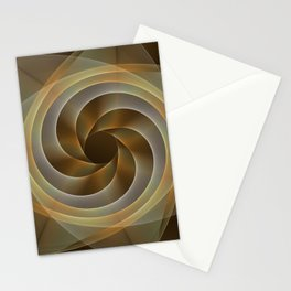 Artistic movement, fractal abstract Stationery Cards