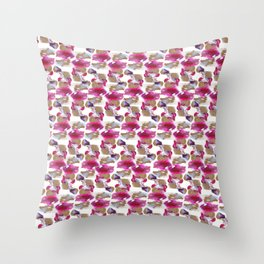 Eloise Abstract Painting Throw Pillow