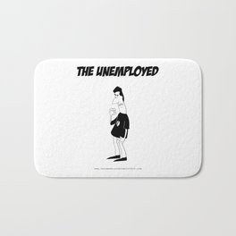 The Unemployed - Sam Bath Mat