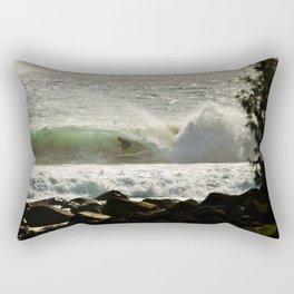 wild tubes Rectangular Pillow