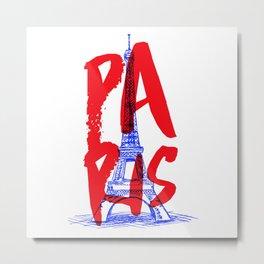 Places: Paris Metal Print