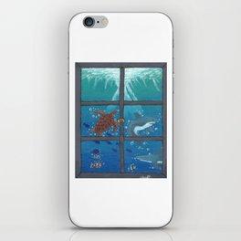 Window To The Sea iPhone Skin