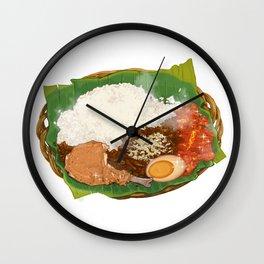 Nasi Gudeg Wall Clock
