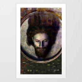 Fatale - John - Rust Art Print