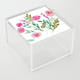 Country Bouquet Acrylic Box