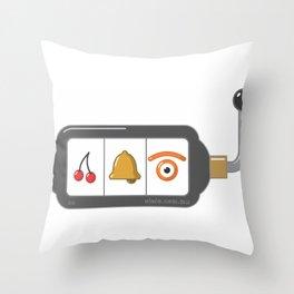 casino[jo] Throw Pillow