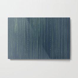 Deep Blue Boxcare Metal Print