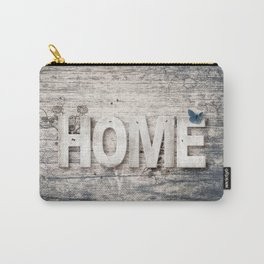Rustic Home Sign Carry-All Pouch
