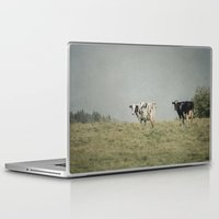 cows Laptop & iPad Skins featuring Moo Cows by Pure Nature Photos