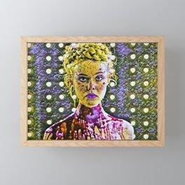 The Neon Demon Artistic Illustration Flowers Style Framed Mini Art Print