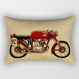 Ducati GS125 1954 Rectangular Pillow