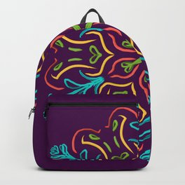 Llegó la Primavera (Lila) Backpack