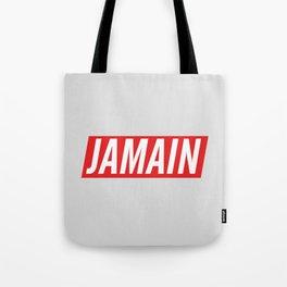 Who's Jamain Icon Tote Bag