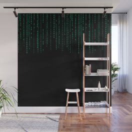 Binary Top Down Wall Mural