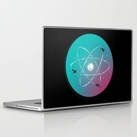 aviation Laptop & iPad Skins featuring Atomic Formation by nicebleed
