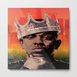 King Kendrick Metal Print
