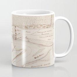 Vintage Map of St Augustine FL (1819) Coffee Mug