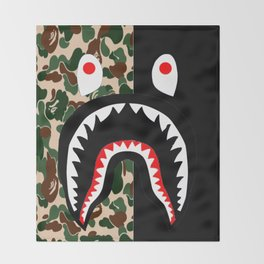 Bape Throw Blanket