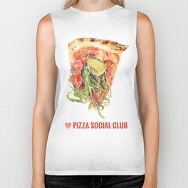Love Pizza Social Club Biker Tank