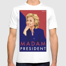 Hillary Poster  T-shirt