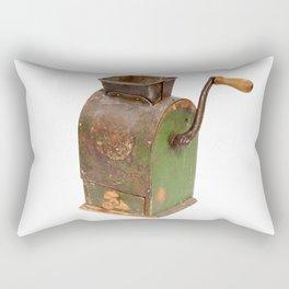 Antigue coffee mill Rectangular Pillow