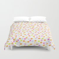 olivia joy Duvet Covers featuring Olivia by Nikki Choi