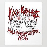 Koch Brothers World Domination Tour 2016 Art Print