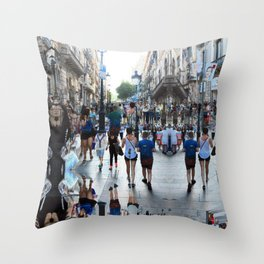 Summer space, smelting selves, simmer shimmers. 16 Throw Pillow