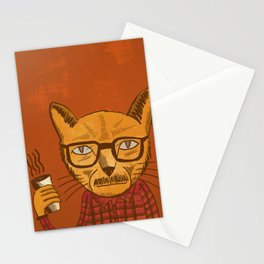 Working with designers is like herding cats Stationery Cards