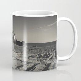 Beach Chapel (B&W) Coffee Mug