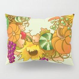 Fall Wreath Pillow Sham