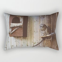 Curious Owl (Montreal, Canada) Rectangular Pillow