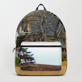 Abandoned Collapsing Homestead Backpack