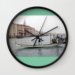 Good Morning Venice Wall Clock