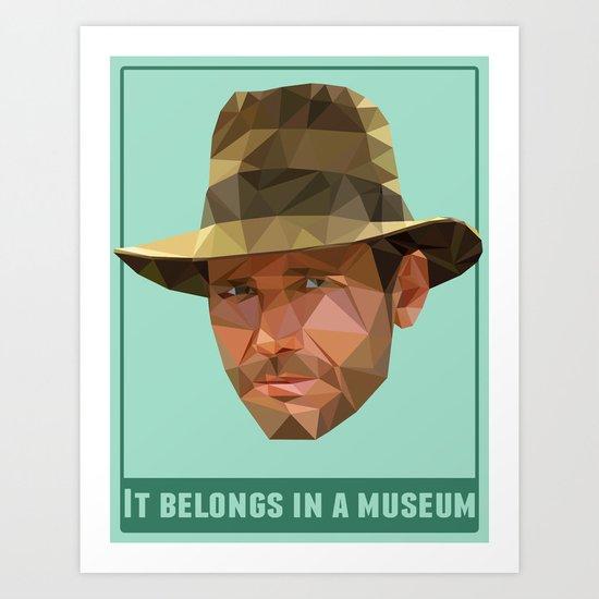 It Belongs in a Museum   Art Print