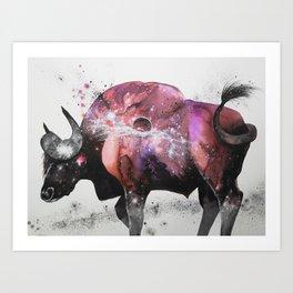 Jupiter X Gaur Art Print