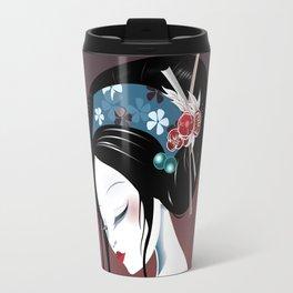 Geisha la blanche Travel Mug