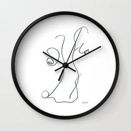 Demeter Moji d21 7-1 w Wall Clock