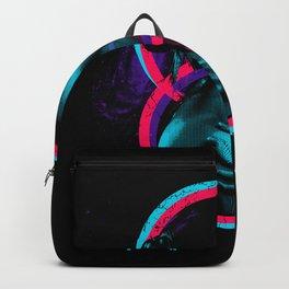 Cool Retro Girl Design Backpack
