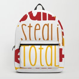 Totally Guilty of Stealing hearts shirt Backpack