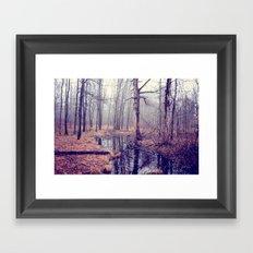 tread softly Framed Art Print