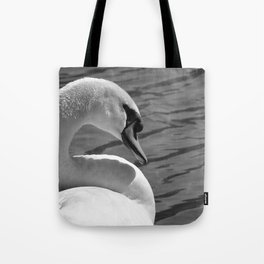 Sunning Swan by Teresa Thompson Tote Bag