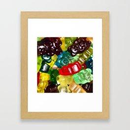 Gummy Bears Framed Art Print
