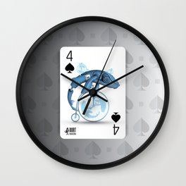 Cards for my arts / WhaloBike Wall Clock