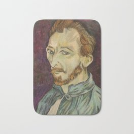Reproduction of Van Gogh - Self Portrait Bath Mat