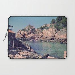 Hidden Coves On Spanish Islands Laptop Sleeve