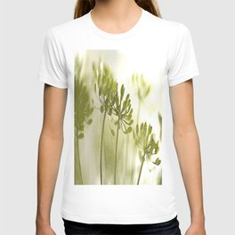 Something green and delicate #decor #society6 T-shirt