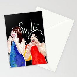 (Broad City) SMILE Stationery Cards