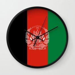 Flag: Afghanistan Wall Clock