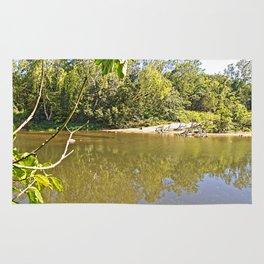 Enjoy the tranquil river Rug